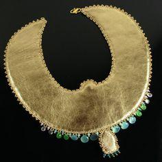 Éter collar de escarabajo egipcio orden de por LuxVivensFashion