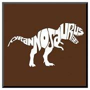 Art.com - Tyranosaurus Rex - Mounted Print