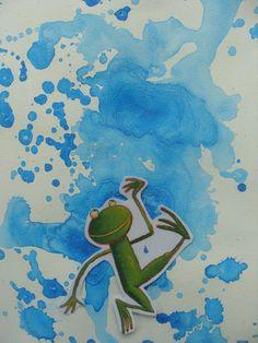 il pleut il mouille, c'est la fête à la grenouille