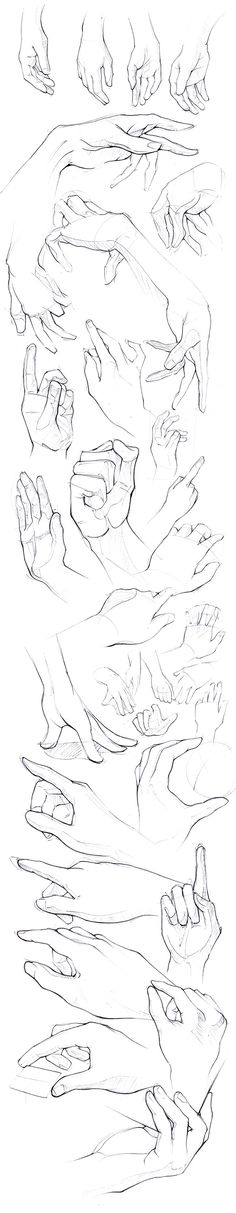 Eu tava lendo o mangá de boas até que eu chego no cap All Might VS All for one ............depressão................ Drawing Hands, Hand Drawing Reference, Hand Drawings, Anatomy Reference, Pose Reference, Human Sketch, Sketch Drawing, Design Art Drawing, Sketch Painting