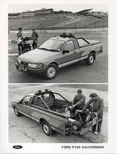 Ford P100 Californian Press Photograph 1990