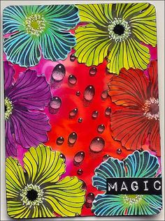 Creativity: Magic.. with a card using Designs by Ryn stamps; July 2015