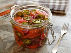 Pickled Jalapenos and Carrots Recipe | Guy Fieri | Food Network