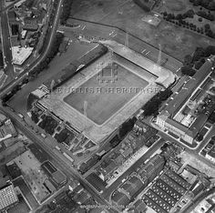 St James' Park. Aerial view of the Home of Newcastle United Football Club 1968. Aerofilms Collection