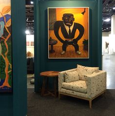 FNB Private Wealth Lounge.  FNB Joburg Art Fair 2015.  By EBONY. Art Fair, Wealth, Lounge, Projects, Airport Lounge, Log Projects, Blue Prints, Lounge Music, Living Room