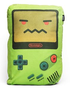 Game Boy and NES Pillow