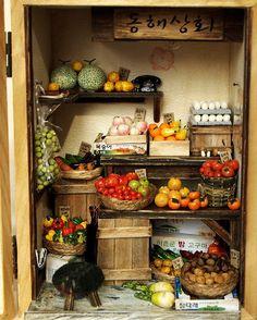 Vintage Shop Fruit and Vegetable