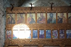 """Images inside the Monastery of """"Panagia Sinti"""", Pafos!! Read more at www.secretcyprustravel.blogspot.com"""