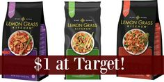 Target: Lemon Grass Frozen Entrees Only $1!