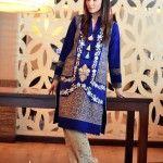 Nadia Farooqui Stylish Wear Winter Exhibition 2014