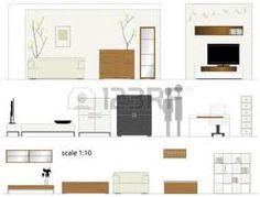 Image result for floor plan furniture vector Floor Plan Symbols, Floor Plans, Flooring, How To Plan, Furniture, Image, Wood Flooring, Home Furnishings, Floor Plan Drawing