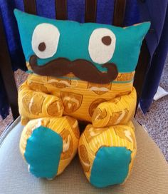 mustache pajama eater by amym710, via Flickr