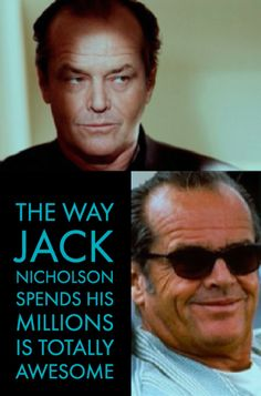 Celebs Discover 21 Things You Didnt Know About Jack Nicholsons Millionaire Lifestyle Jack Nicholson Gym Memes Gym Humor Workout Humor T Shirt Makeover Funny Shirts Women Thing 1 Boyfriend Anniversary Gifts Writers