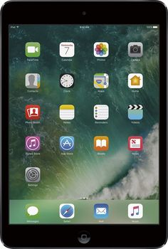 Apple - iPad® mini 2 with Wi-Fi - 32GB - Space Gray/Black