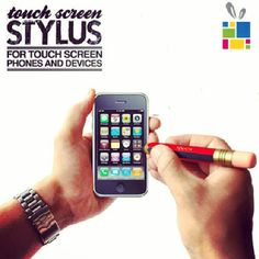 The touch screen stylus is designed like classing writing pencil accurat operation, perfect for #iPhone #iPad #Samsung #SmartPhone #Tablet Available @tickytacky #Jordan #FreeDilevery #GiftForHim #Unique #Gifts #GiftForHer #Office #Gadgets #Stationary #KSA #UAE #GCC #MENA #Kuwait
