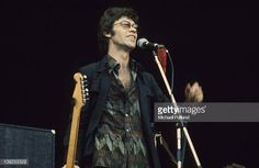 The Band perform at Wembley London 14th September 1974 Robbie Robertson