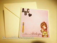 chicca craft e i little mice: cinque card per cinque insegnanti