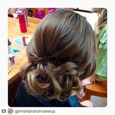 awesome vancouver wedding Bridesmaid updo! | #GemsHairAndMakeup | #Repost @gemshairandmakeup with @repostapp. ・・・ A soft bridesmaid hairstyle from this past weekend by our stylist Rhea #bridesmaid #bridalhair #updo #romanticupdo #romantic #wedding #fallwedding #soft #weddinghair #weddinghairstyle by @raysjoberg  #vancouverwedding #vancouverweddinghair #vancouverwedding