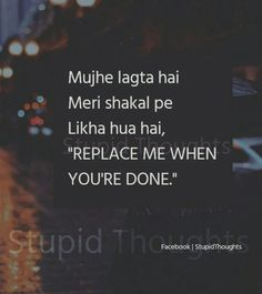 Broken Love Quotes, Sad Love Quotes, Truth Quotes, Heart Quotes, Me Quotes, Hindi Words, Cute Relationship Quotes, Crazy Girl Quotes, Gulzar Quotes