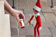 PG-13 Elf on a Shelf series! hahaha!