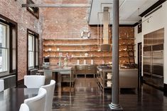TriBeCa Loft Kind Design - loft kitchen in 2014