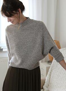 Ravelry: ROBIN Sweater pattern by Susanne Müller Jumper Knitting Pattern, Knitting Patterns Free, Free Pattern, Robin, Oversize Pullover, Ravelry, Knitting Kits, Knitting Ideas, Capsule Wardrobe