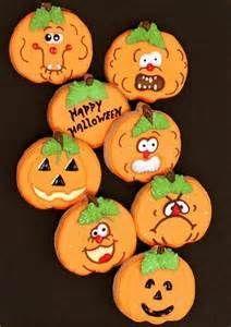 cute pumpkin cookie - Bing Images