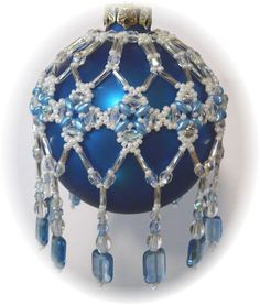 Countess Ornament Cover Pattern by michelleskobel on Etsy