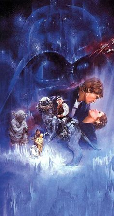 Find images and videos about film, classic and star wars on We Heart It - the app to get lost in what you love. Star Wars Fan Art, Images Star Wars, Star Wars Pictures, Star Citizen, Arte Do Harry Potter, Star Wars Wallpaper, Nerd, The Empire Strikes Back, Star Wars Poster
