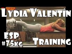 Lydia Valentín (ESP, 75KG) | Olympic Weightlifting Training | Motivation