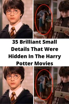 35 #Brilliant Small Details That Were #Hidden In The Harry Potter #Movies