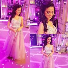 Indian Dresses, Indian Outfits, Wedding Up Do, Helly Shah, Tv Actors, Prom Dresses, Formal Dresses, Bollywood Stars, Celebs