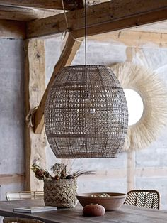 Wonderfully rustic and Scandi through and through, this handsome extra large pendant lamp has heaps of appeal and simply masses of natural charm Rattan Shades, Metal Ceiling, Hanging Lights, Rattan Pendant Light, Large Pendant Lighting, Pendant Lamp Shade, Pendant Lamp, Large Pendant Lamp, Extra Large