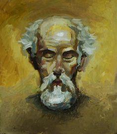 oil, copy Zimou Tan (alla prima painting)