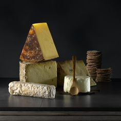 The Perfect Cheeseboard selected for us by Fiona and Jess of The Cheese School