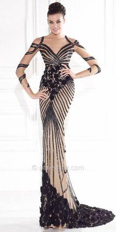 Tarik Ediz Classico Evening Dress