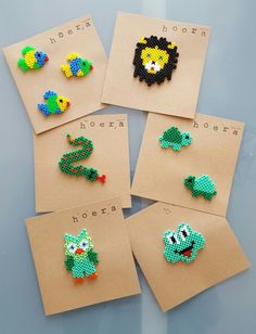 Diy Perler Beads, Perler Bead Art, Pearler Beads, Diy Projects For Kids, Diy For Kids, Crafts For Kids, Arts And Crafts, Iron Beads, Melting Beads