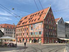 Weberhaus - Augsburg #Augsburg #Weberhaus
