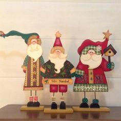 Christmas Wood Crafts, Christmas Party Decorations, Country Christmas, Christmas Projects, Christmas Art, Christmas Greetings, Christmas Ornaments, Santa Paintings, Reindeer Craft