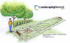 Building a Horseshoe Pit. http://www.landscapingnetwork.com/backyard-sports/horseshoes.html