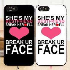 Bff Best Friend Don'T Break Her Heart Hard Phone Case Cover For Iphone Models Source by bmundle Bff Iphone Cases, Bff Cases, Funny Phone Cases, Hard Phone Cases, Country Iphone Cases, Phone Covers, Best Friend Cases, Friends Phone Case, Iphone 8 Plus