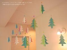 モビール - クリスマス・ツリー(green) -の画像4枚目