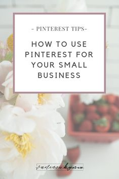 How do you get started on Pinterest for your creative small business? In this blog post, I'm sharing WHY you should be using Pinterest for your creative small business, HOW to get started, and some resources for driving traffic back to your shop or blog by using Pinterest marketing strategies! #VanessaKynes #PinterestTips #PinterestforBusiness #creatives #socialmediamarketing #blogginttips Online Marketing Strategies, Media Marketing, Facebook Marketing, Marketing Ideas, Affiliate Marketing, Business Inspiration, Business Ideas, Blogging, Pinterest For Business