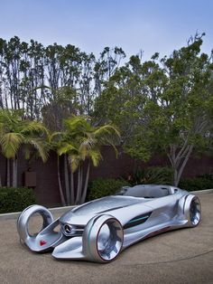 ♂ Silver Concept Car Mercedes Benz Silver Arrow.