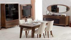 Napoli yemek odasıi genova yemek odaları, yemek odası takımları