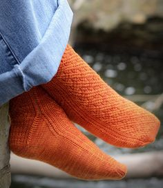 by Hunter Hammersen   The array of new sock constructions available today is marvelous.  It's wonderful that knitters are turning their crea...