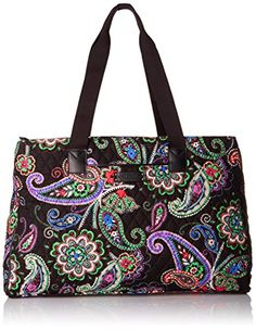 Vera Bradley Womens Triple Compartment Travel Bag Kiev Paisley * Click image to review more details.