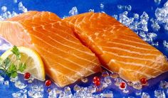 Kráľ zdravia a štíhlosti: Pripravte si lososa inak No Salt Recipes, Fish Recipes, Meat Recipes, Fish And Meat, Sweet And Salty, Trout, Salmon, Avocado, Mango