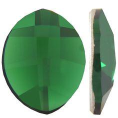 moss green color chart | SWAROVSKI 2204 Pure Leaf Flatback 10x8 Dark Moss Green