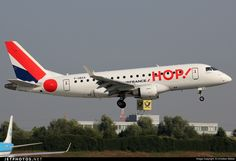 High quality photo of F-HBXA (CN: 17000237) HOP! for Air France Embraer 170-100LR by Christian Weber